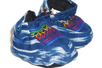 Guatemalan Textiles Baby Shoes