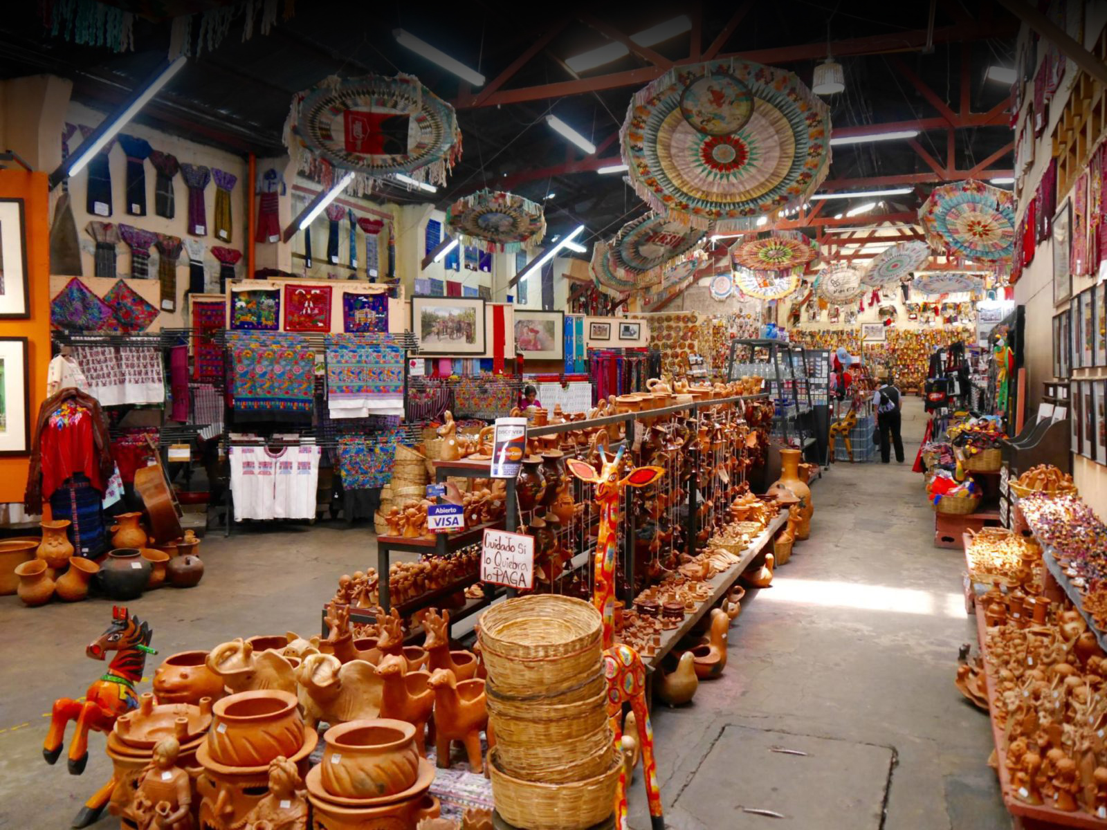 Textiles And Handicrafts From Guatemala